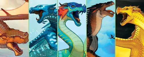 "Which ""Wings of Fire"" character are you?"