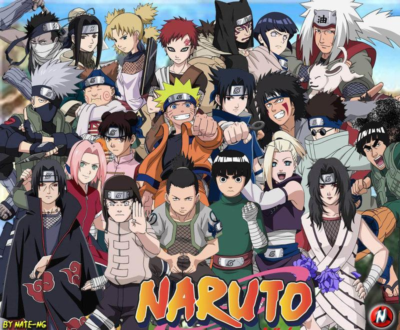 Do u KNow your Naruto characters