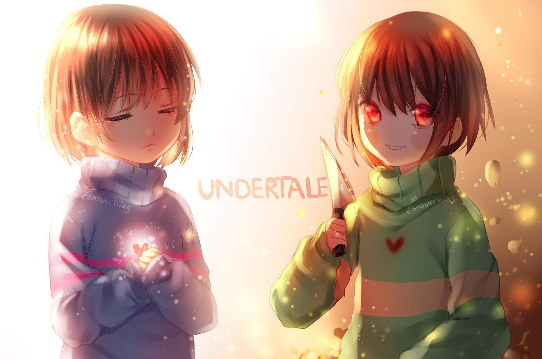 Undertale! Are You Chara Or Frisk? - Personality Quiz