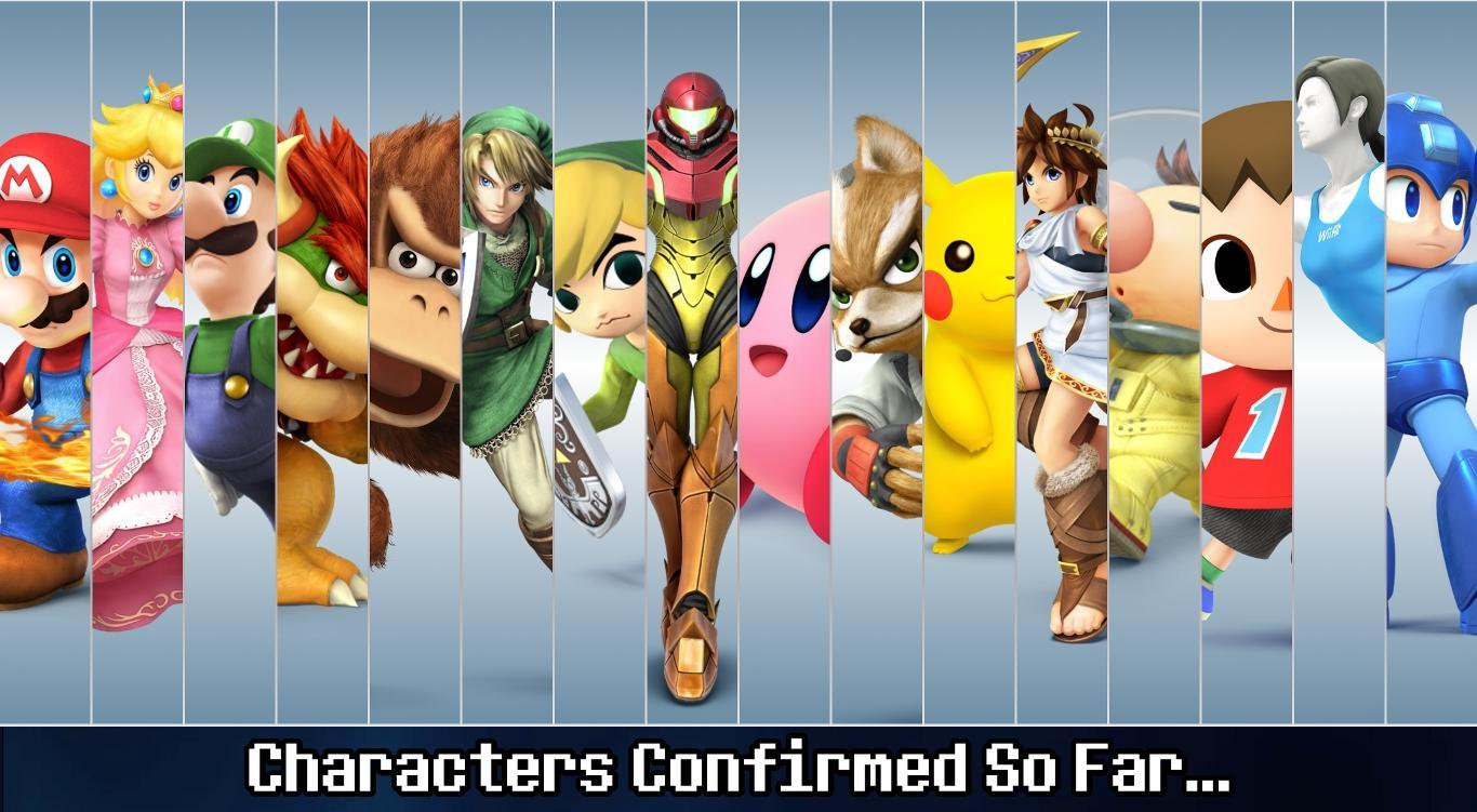 Which female smash character are you