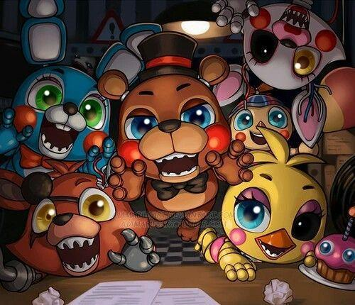 Which FNAF2 Character are You?