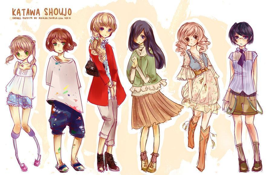 What's your anime outfit style? (GIRLS ONLY)