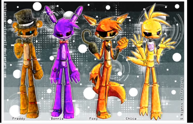 What animatronic are you?