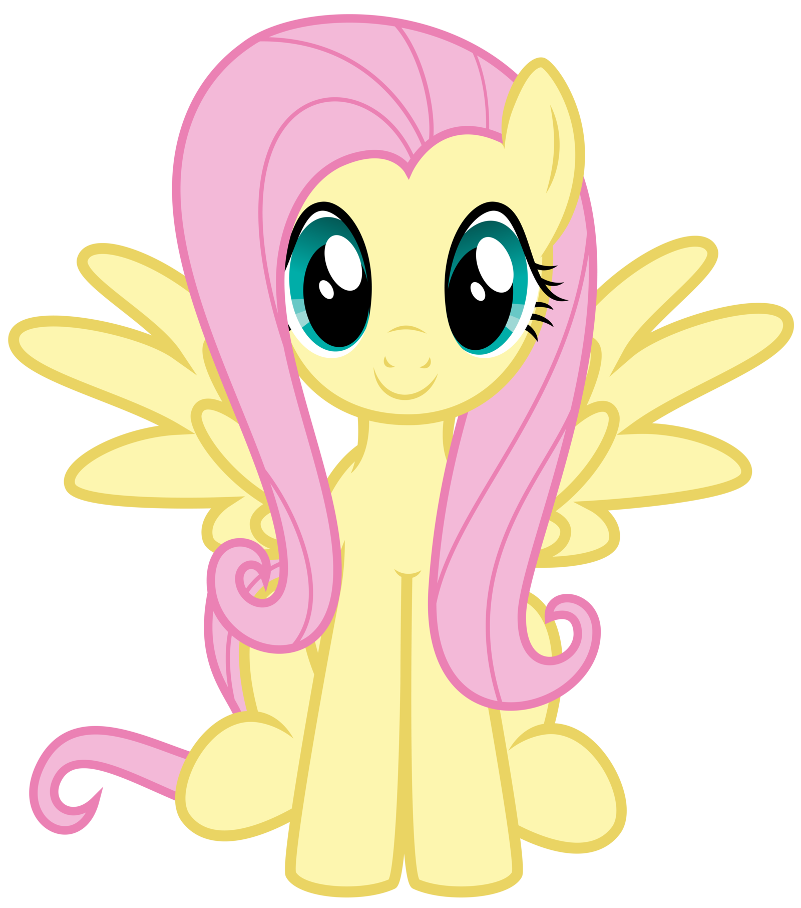 What does Fluttershy think of you? (1)