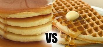 Waffles or Pancakes? Would you rather/this or that?