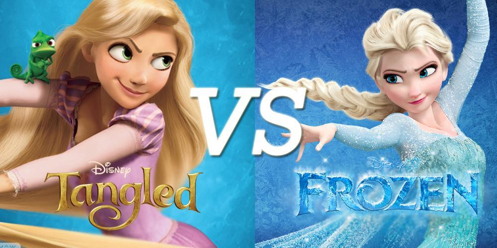 Frozen VS Tangled : Which one's character are you?