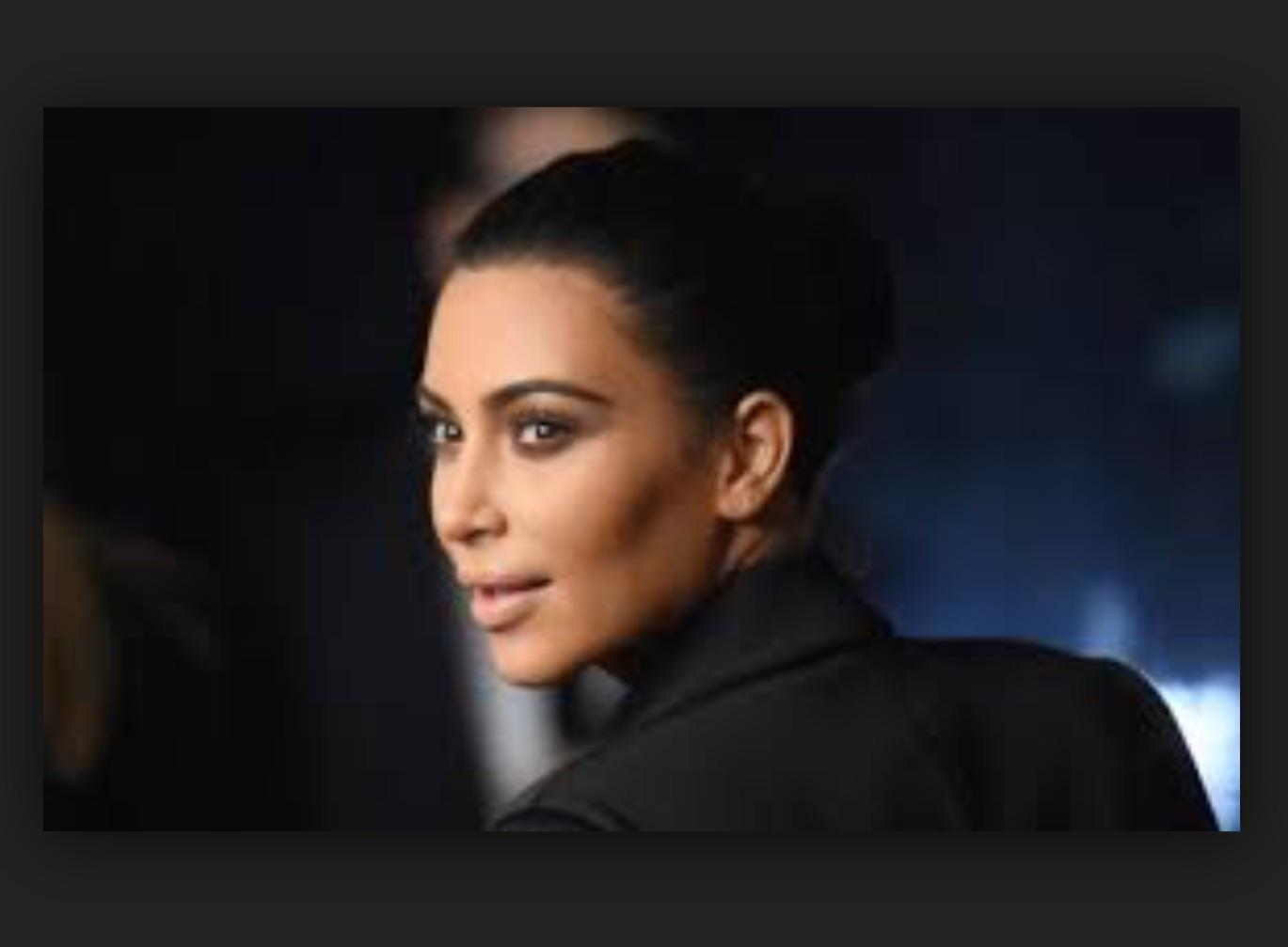 could you be related to Kim Kardashian?