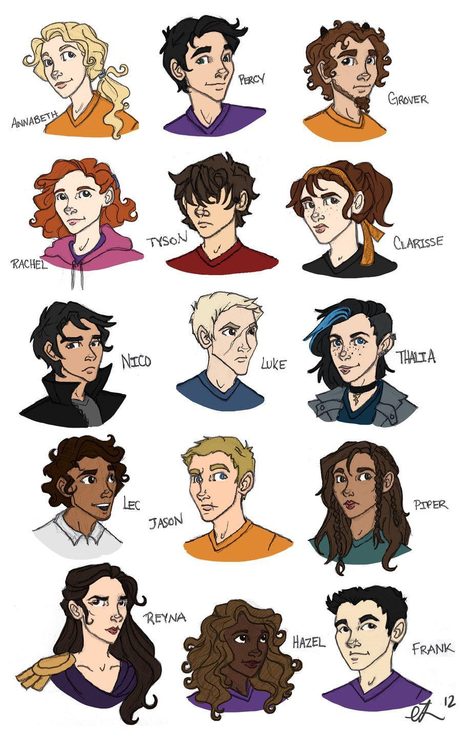 Witch character from Percy Jackson are you? ( only the main 7 )