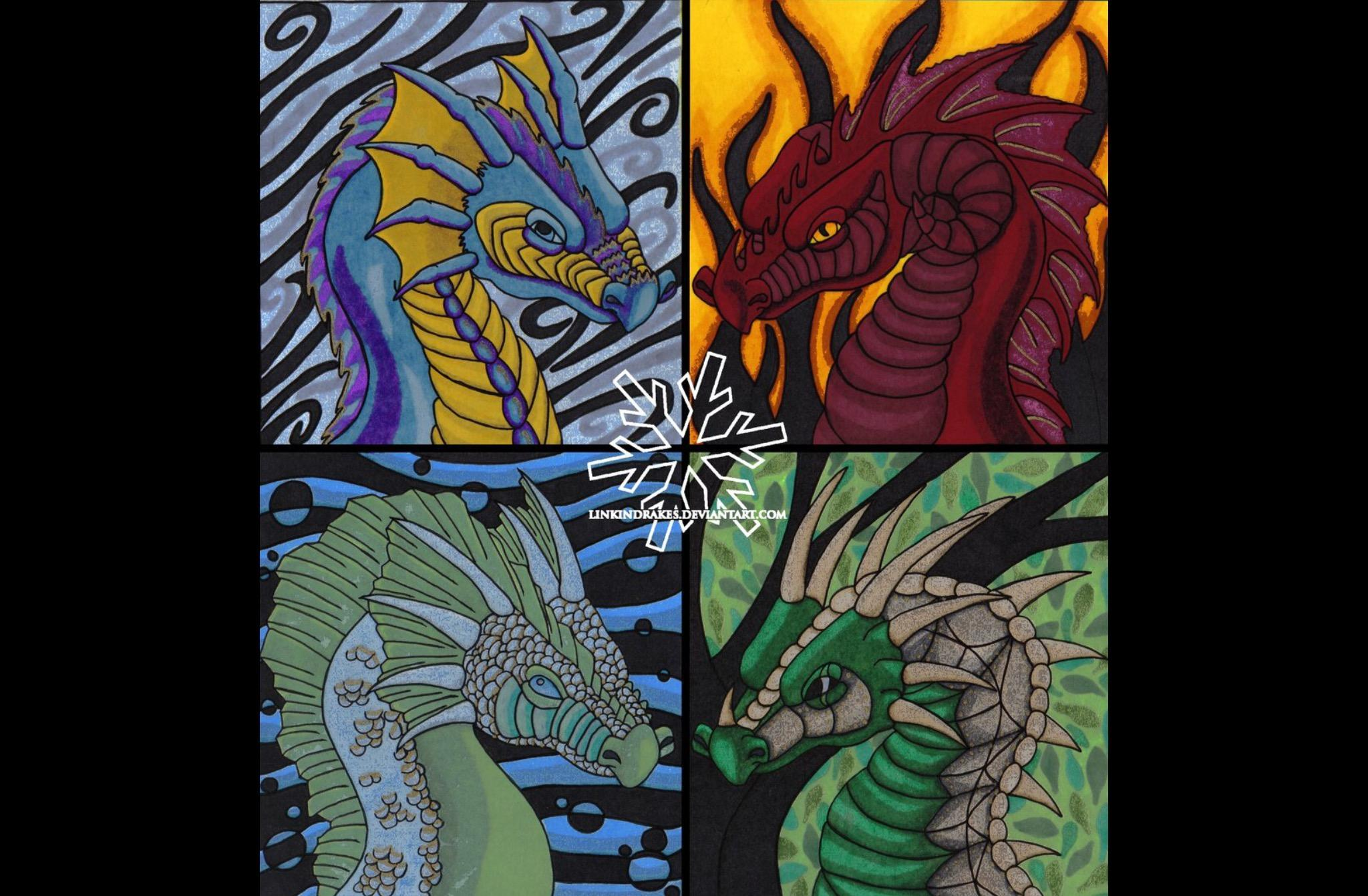 What type of dragon are you? (2)