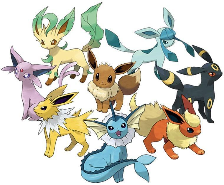 What Eevee Evolution are you? (2)