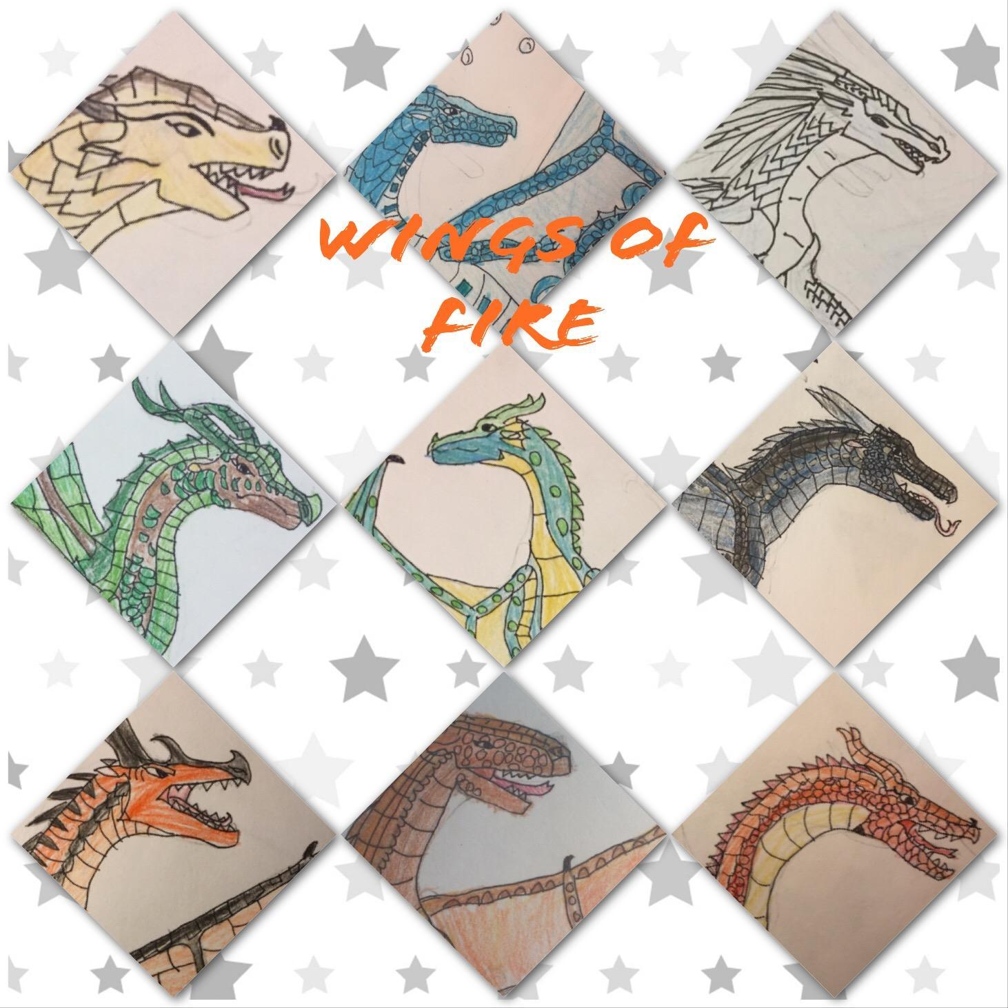 Wings of Fire Tribe Quiz (Includes Pantala dragons)