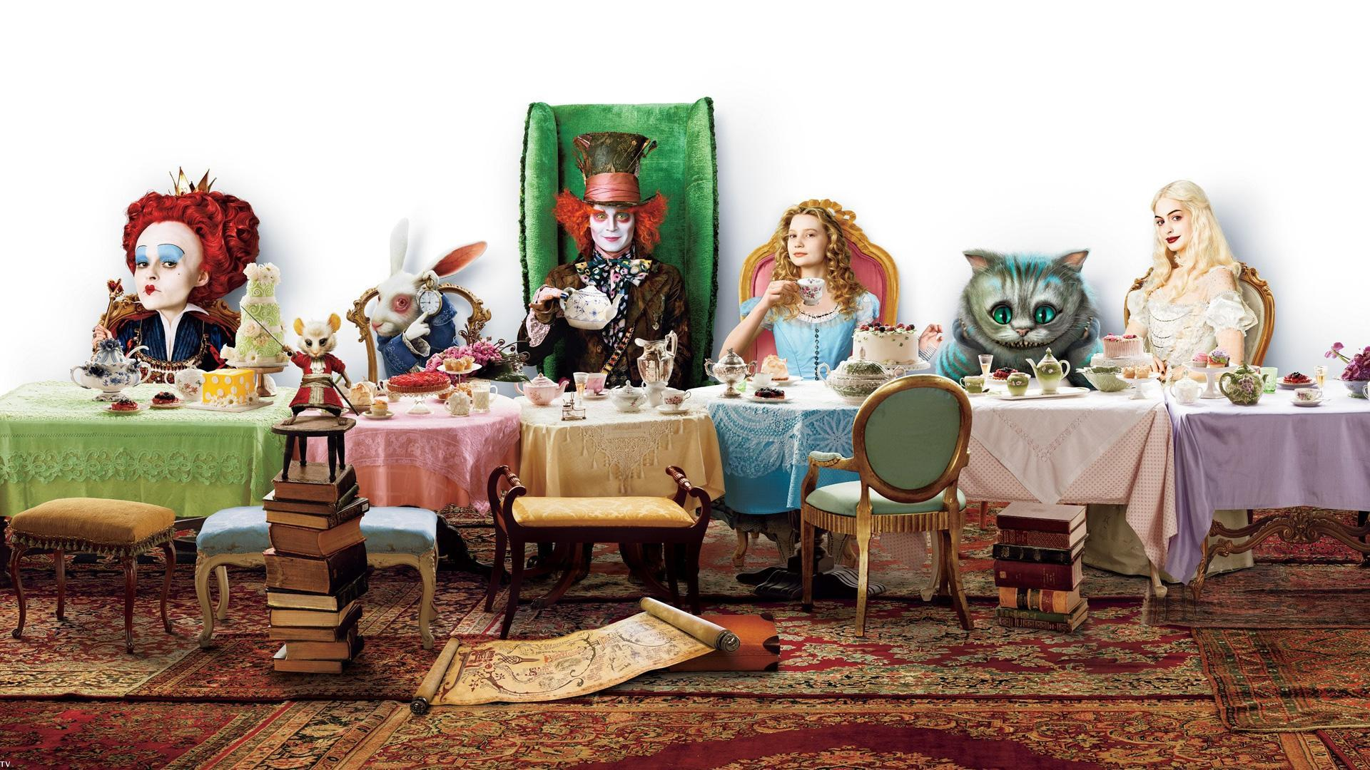 Who are you from Alice and wonderland?