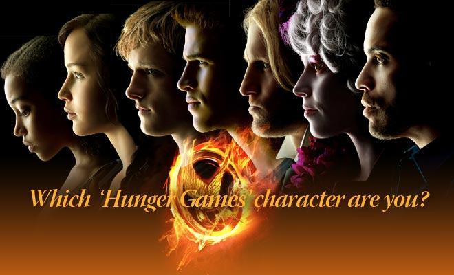 What Hunger Games Character are you? (4)