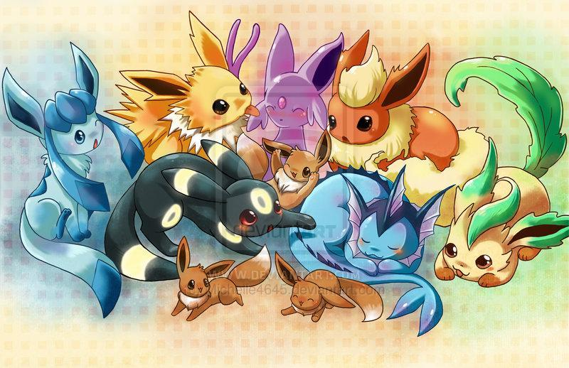 What eevee evolution are you? (1)