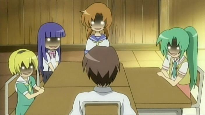Who would you be killed by in Higurashi?
