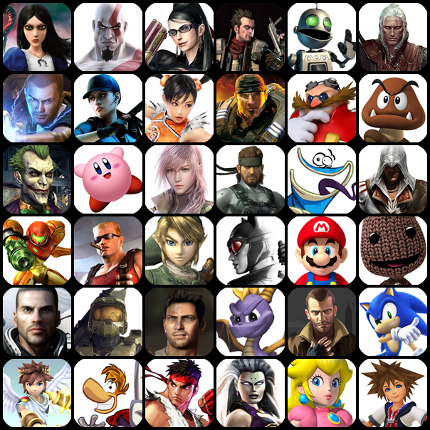 Which Video Game Character Are You Most Like?