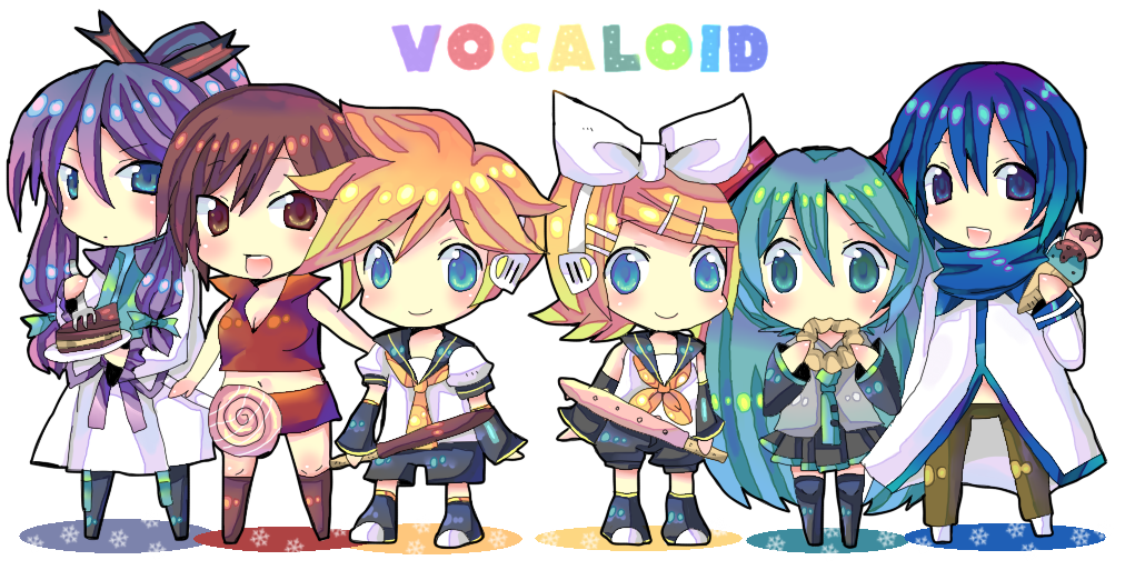 Which Vocaloid Are You? (4)
