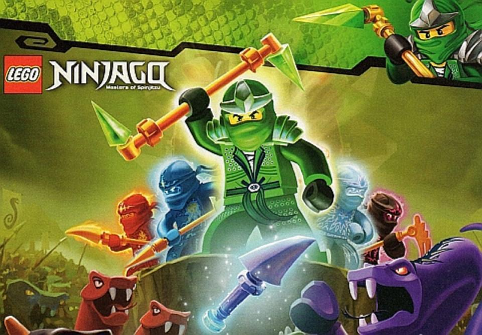 Which Lego Ninjago character are you?