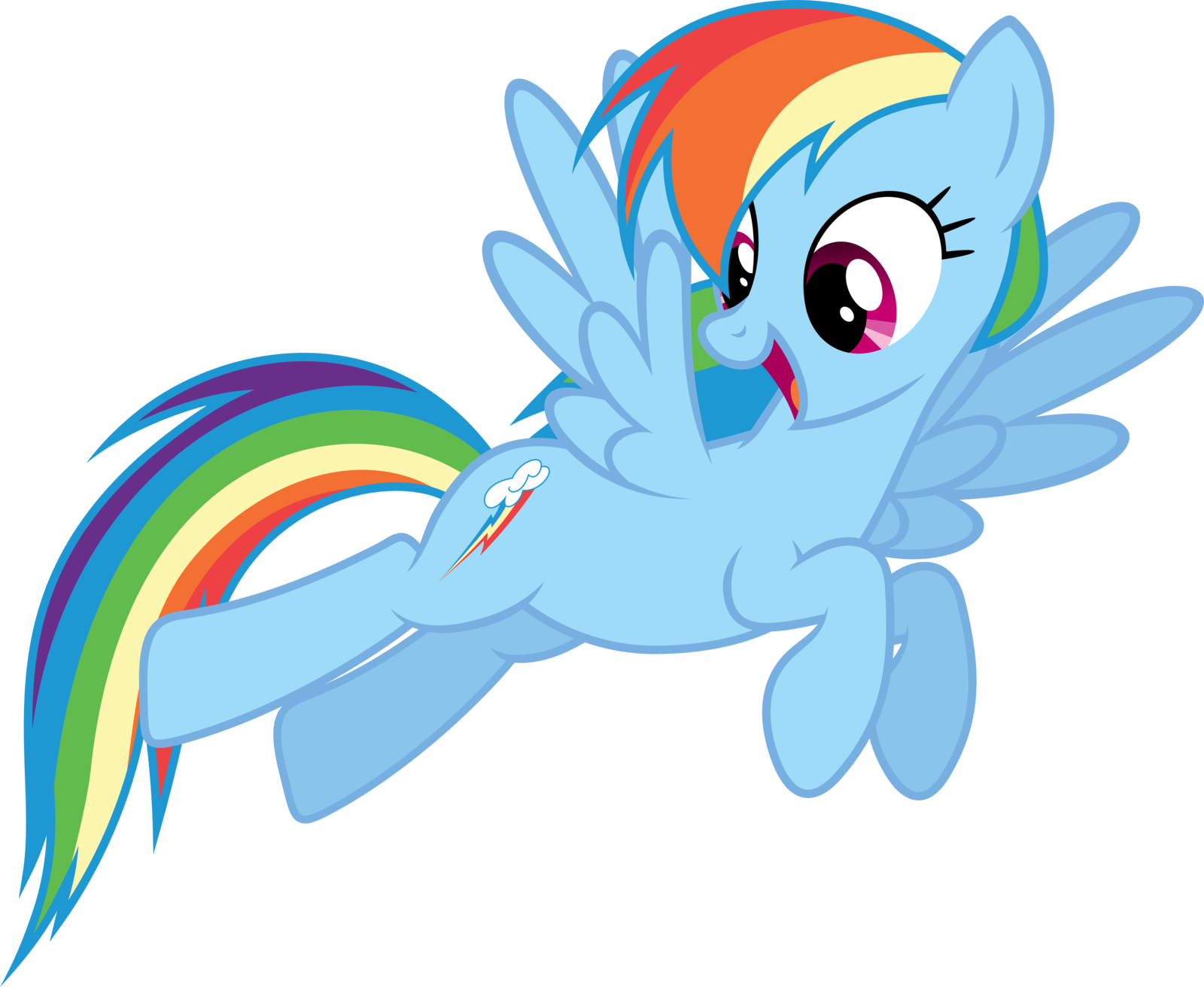 How well do you know rainbow dash? - Scored Quiz