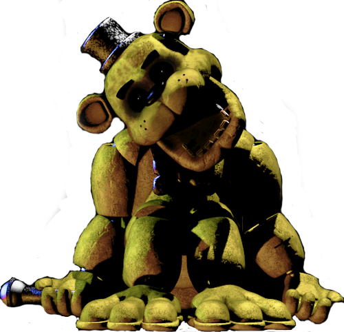 Golden Freddy Fazbear