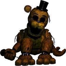 You are golden freddy!
