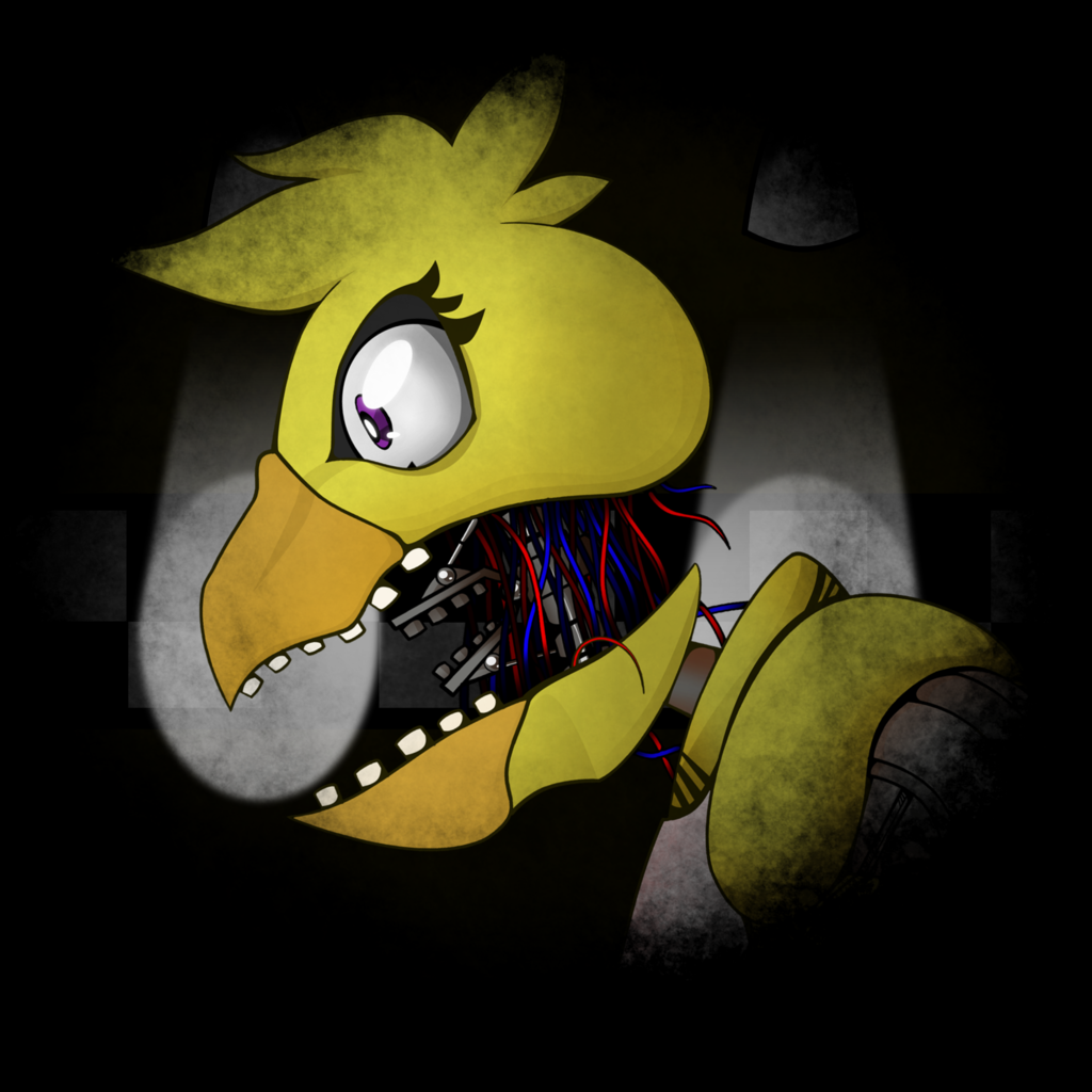 you are Withered chica.