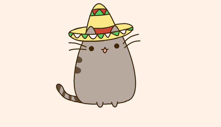 Mexican Pusheen