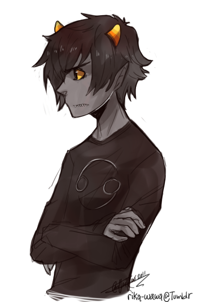Karkat likes you! but..Whats that?