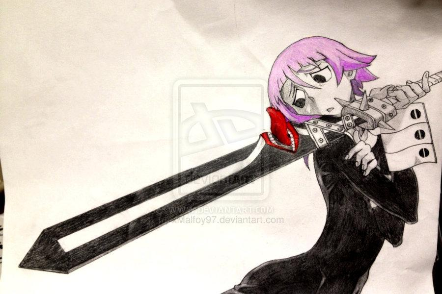Crona and the Demon Sword