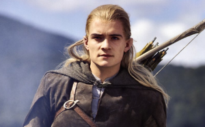 What Does Legolas Say When he is Standing On the Rock?