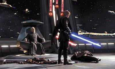 Episode 3: Who was killed by Anakin on bored the separatist ship?