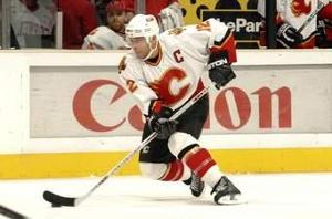 Who was the best player on the Calgary Flames or previously the Atlanta Flames