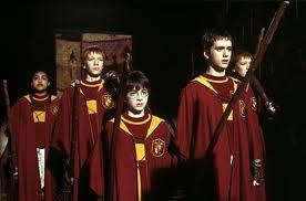Which of these Harry Potter characters did not at some point play Gyffindor Quidditch during the Harry Potter series?