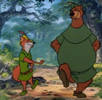 Who is Robin Hood's right hand man (best mate)?