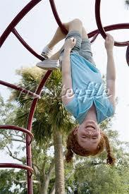 What would you do if you saw your friends hanging in the monkey bars?