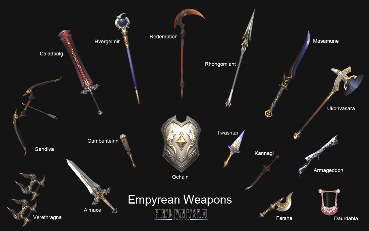 Which weapon out of the following do you prefer?