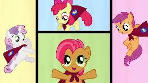 what are the names of the cutie mark crusaders?
