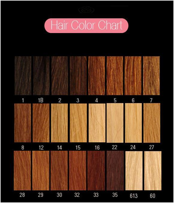 Your Hair Colour is (or closest)