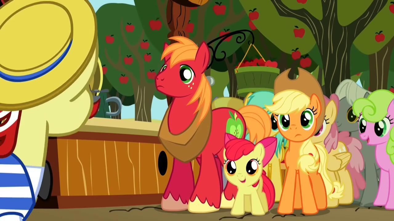 Who is Applejack's brother?