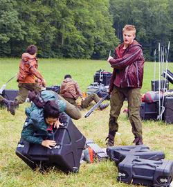 If you were in the Hunger Games, what would your tactic at the Cornucopia be?