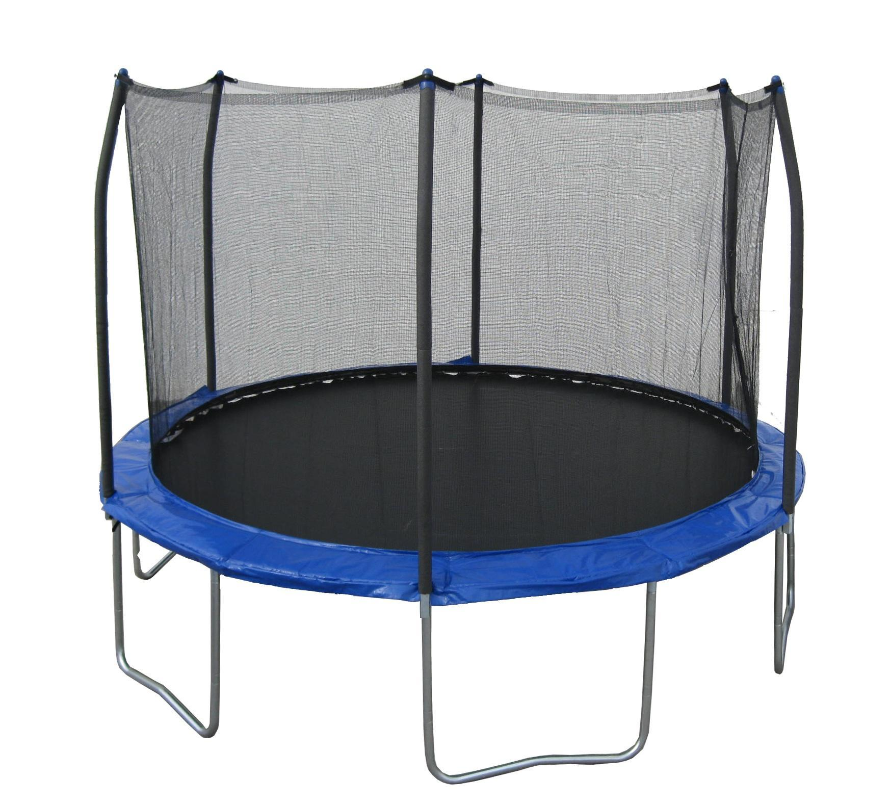 You're on a trampoline! What do you do?