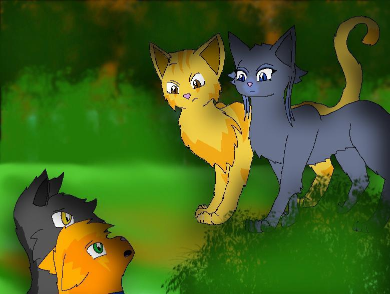 Into The Wild: Why did Bluestar let Rusty join? (I'm doing this again because the other one was a lot about death)