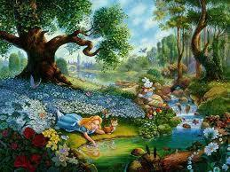 was wonderland real or a dream in the first book