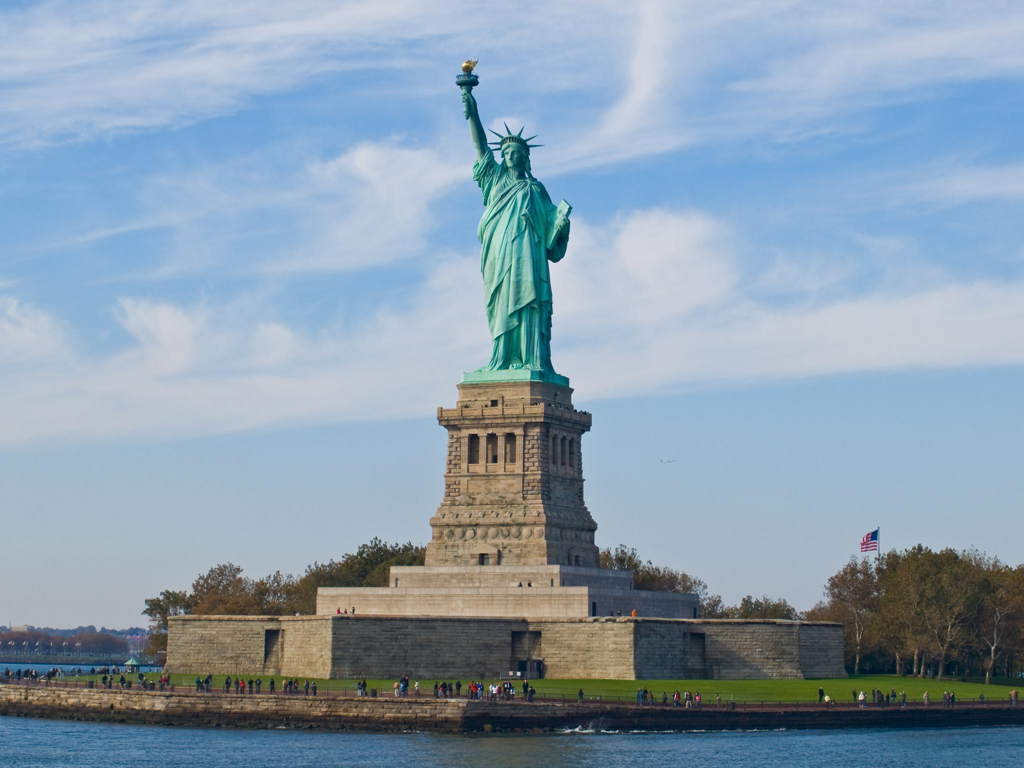 What Does the Statue of Liberty Hold in Her Left Hand?