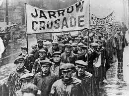 What was the Jarrow Crusade?