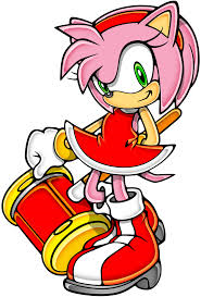 "After your training you heard me yell then a slap. ""Leave me along!"" I yelled. ""Sonic doesn't love you,"" I screamed. ""Yes he does!"" You heard a girly voice scream. ""Amy get out of my house!"" I yelled. A pink hedgehog with green eyes and a red dress stomped out and turned to you with a happy smile. ""Hi I'm Amy Rose."" She said holding out her hand."