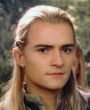 What is Legolas's hairstyle?