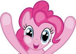 Hi there! I am Pinkie Pie! Your laughter guide trough questions 1-3!