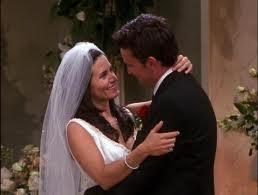 What season did Monica and Chandler get married in?