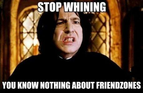 While in potions class, Snape yells at a student for no reason at all! How do you react?
